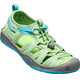 Keen Youth Moxie Sandals Quiet Green/Aqua Sea